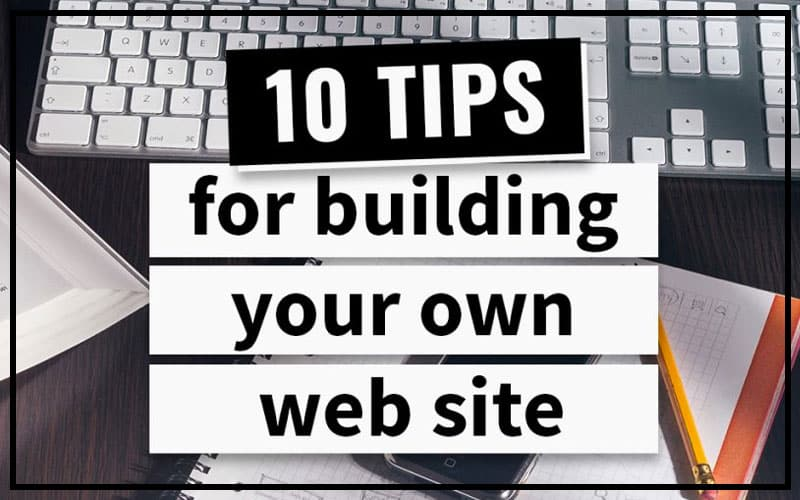 FREE eBook - 10 tips to building your own small business web site